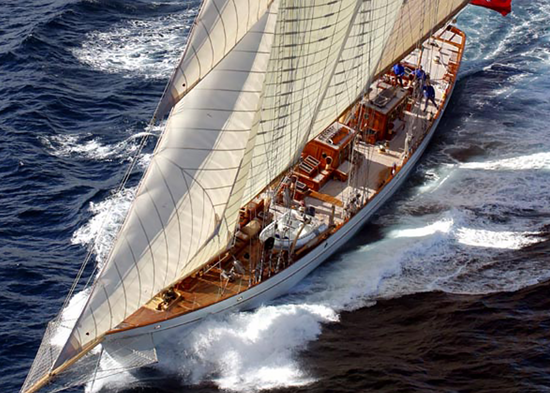 Simple audio video systems installation on this beautiful old lady of the sea