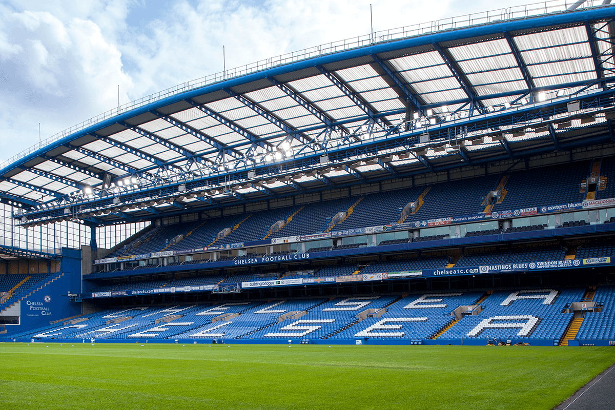 Chelsea Football Club – a Client for 30 years where we have delivered the Public Address systems, emergency phone systems, commercial, retail and special areas.